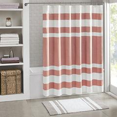 Madison Park Spa Waffle 3M Scotchgard™ Shower Curtain