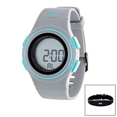 Everlast Gray Heart Rate Watch
