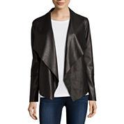 Mo-Ka Drape-Front Coat