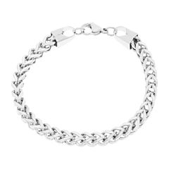 Stainless Steel Wheat Chain Bracelet