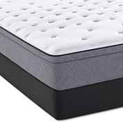 Sealy® Posturepedic® Spoleti Park Plush Euro-Top - Mattress + Box Spring