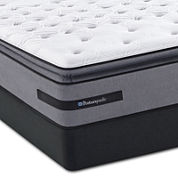 Sealy® Posturepedic® Plus Livermore Valley Cushion Firm Euro Pillow-Top - Mattress + Box Springs