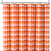 Home Expressions™ Gingham Plaid Shower Curtain