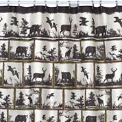 Creative Bath™ Rustic Montage Shower Curtain