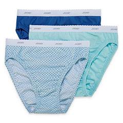 Jockey® 3-pk. Classic Fit French-Cut Panties - Plus 9481