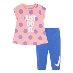 Nike Legging Set-Baby Girls