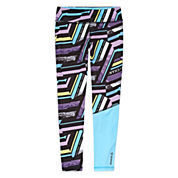 Reebok® Stripe Leggings - Girls