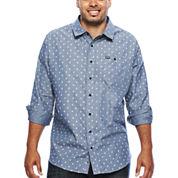 Zoo York® Long-Sleeve Crossroads Woven Shirt - Big & Tall