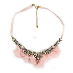 Decree Clear Statement Necklace