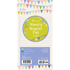 Banners 70 Page Magnetic List Pad