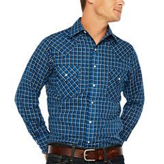 Ely Cattleman Long Sleeve Snap Western Shirt