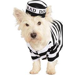 Prisoner Dog Pet Costume - Large