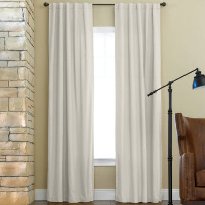 jcpenney home jenner cotton twill thermal curtain panel