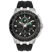 Citizen Mens Black Strap Watch-Jy8051-08e