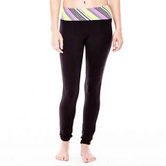 Flirtitude® Cropped Yoga Pants
