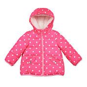 Carter's® Pink Dot Long-Sleeve Coat - Toddler Girls 2t-5t