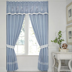 Croscill Classics® Embroidered Shells 2-Pack Curtain Panels