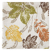 JCPenney Home™ Sprawling Leaves Set of 4 Napkins