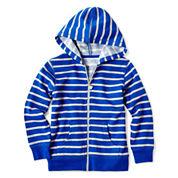 Okie Dokie® Long-Sleeve Hooded Jacket - Boys 2y-6y