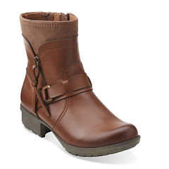 Clarks® Riddle Avant Womens Booties