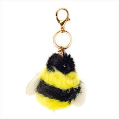 Carole Bumblebee Keychain