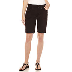 Gloria Vanderbilt® Beverly Relaxed-Fit Bermuda Cargo Shorts - Petite