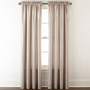 Royal Velvet® Plaza Thermal Interlined Rod-Pocket Window Treatments