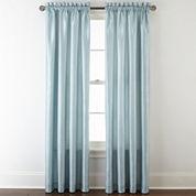 Royal Velvet® Plaza Thermal Interlined Rod-Pocket Curtain Panel