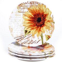 Certified International Paris Sunflower Dinnerware Collection