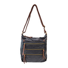 Bueno Two-Tone Crossbody Bag