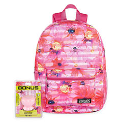 FLORAL BACKPACK WITH BONUS SPEAKER