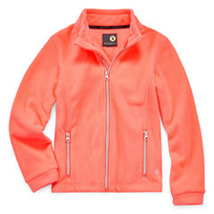 Xersion Girls Lightweight Fleece Jacket Plus-Big Kid