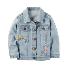 Carter's Girls Denim Jacket-Preschool