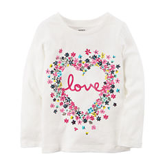 Carter's Graphic T-Shirt-Baby Girls