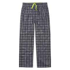 Grey Plaid Pant Husky Boy's