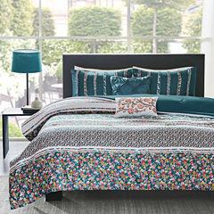 Intelligent Design Amelia Floral Comforter Set