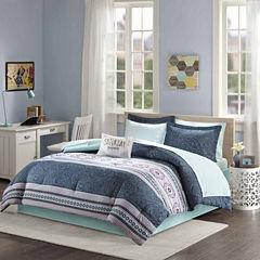 Intelligent Design Gloria Bohemian Comforter Set