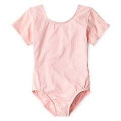 Short-Sleeve Leotard - Girls 4-14