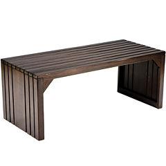 Langston Slat Bench