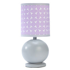 Crown Crafts Emma Lamp and Shade