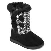 Okie Dokie® Keeta Girls Boots - Toddler