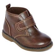 Okie Dokie® Jasper Boys Chukka Boots - Toddler