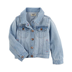 Oshkosh Girls Denim Jacket-Toddler