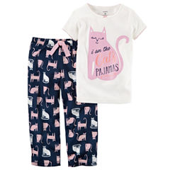 Carter's 2-pc. Kids Pajama Set Girls