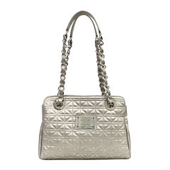 Nicole By Nicole Miller Suzie Quilted Medium Tote Bag