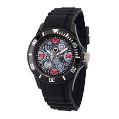 Classic Marvel Mens Black Strap Watch-Wma000070