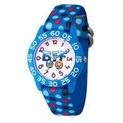 Emoji Marvel Boys Blue Strap Watch-Wma000083