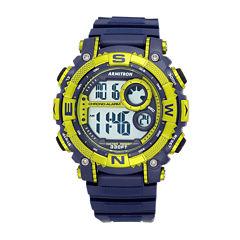 Armitron Mens Blue Strap Watch-40/8284nvlg