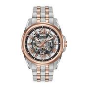 Bulova Mens Two Tone Bracelet Watch-98a166