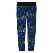 Xersion™ Holiday-Print Yoga Leggings - Girls 7-16 and Plus